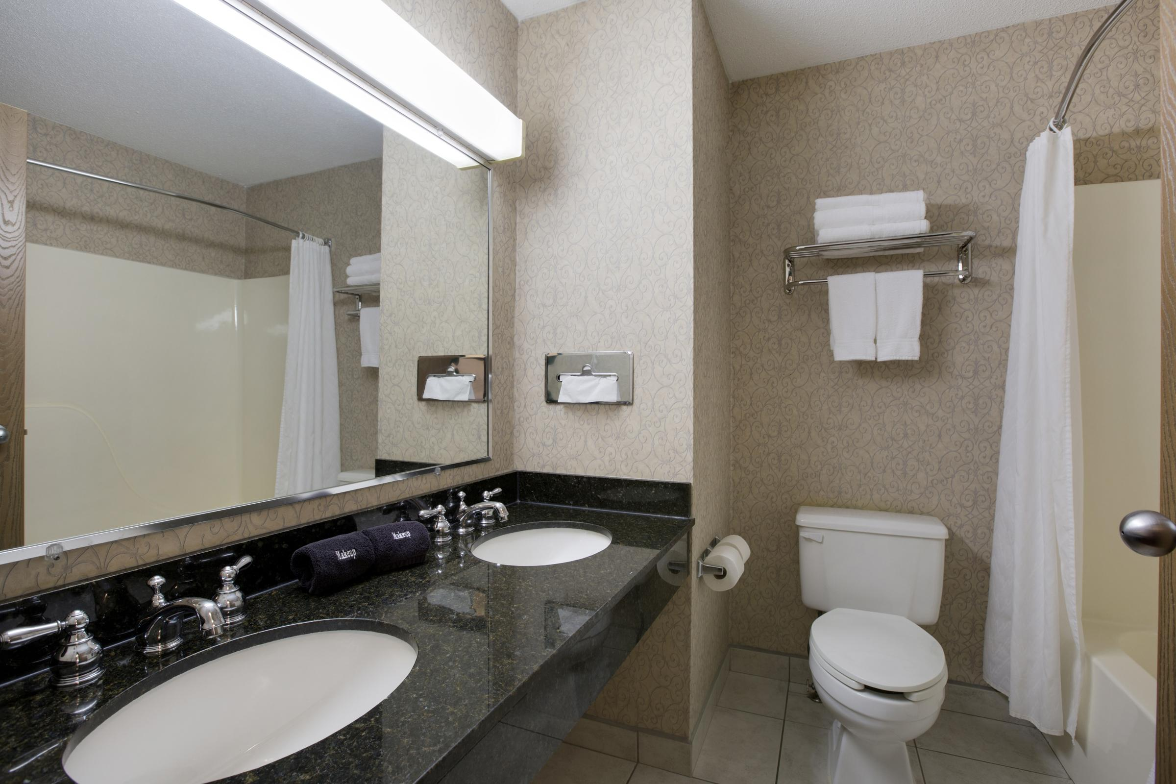 Double Full Size Bathroom